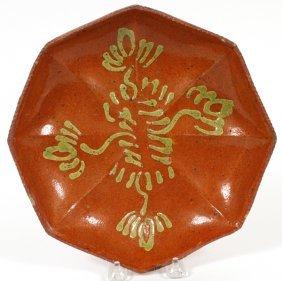 Shenandoah Valley Redware Pottery Plate
