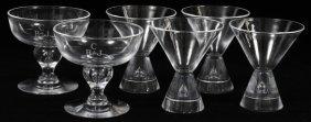 Steuben Crystal Liquors & Sherbets 6 Pieces