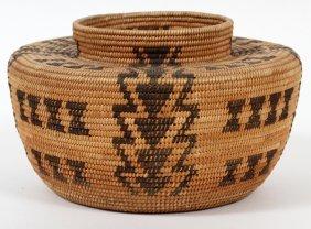 Navajo Woven Jar Circa 1920