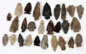 Indian Stone Arrow Heads