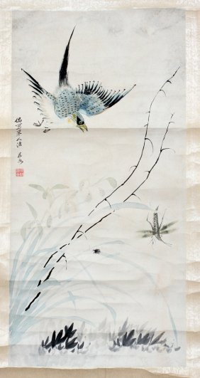 Chinese Rolled Scroll