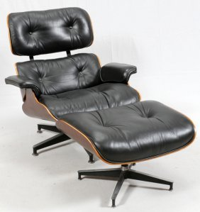 Eames For Herman Miller Chair & Ottoman
