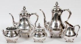 Reed & Barton 'provincial' Silverplate Coffee Set
