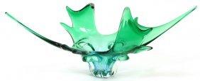 Hand-blown Glass Free-form Centerpiece