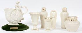 Lenox Porcelain Vases & Pitcher Seven Pieces