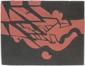 Richard Hunt Color Lithograph On Paper #11/50