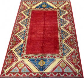 Afghan Oriental All Wool Hand Woven Rug