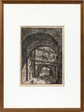 Luigi Rossini Etching