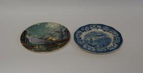 Royal Warwick And John Stobart Porcelain Plates