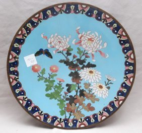 Antique Cloisonne Charger