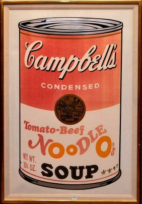 Andy Warhol (american, 1928-1987) Campbell's Soup Ii: