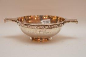 Sterling Bowl Impressed Hamilton & Inghes Edinburgh