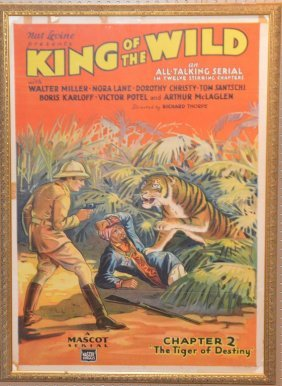 """Original 1931 One-sheet Movie Poster, """"king Of The"""