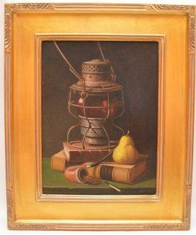 Donald Mcdorman (american 20th Century) Still Life,