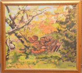 Hildegard Rath (american, 1909-1994) Fruit In
