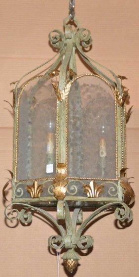 Decorative Hanging Electrified Lantern