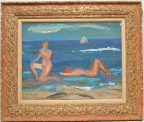 George Daniell (american 1911 - 2002) Fire Island Ny,
