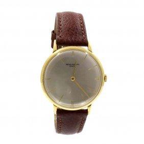 Patek Philippe 18k Gold Men's Watch