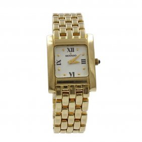 Movado 14k Gold Ladies Watch