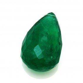 36.88 Ct. Unmounted Natural Emerald