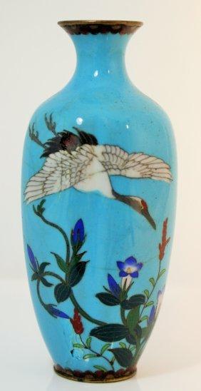 Small Japanese Cloisonne Vase
