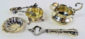 Lot Of 5 Sterling Silver Items