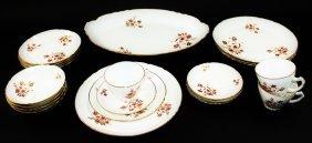 Porcelain Napoleon China 20 Piece