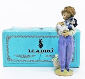Lladro #7609 'my Buddy' Porcelain Figurine