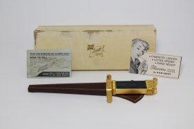 1950 Asr Ascot Florentine Dagger Knife Lighter