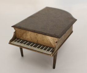Vintage Music Piano Player Box