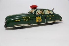 Vintage Marx Tin Windup Dick Tracy Squad Car 1949
