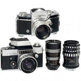Exakta Varex IIa, RTL 1000 And 4 Lenses