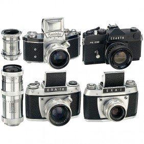 4 Exakta And Exa Cameras