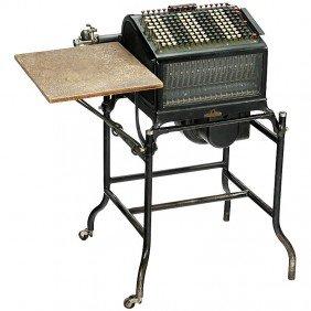 """Burroughs Electric Mod. C2"""