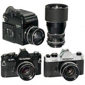 Rolleiflex SL35, SL350 And SL2000F