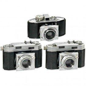 3 Agfa Karat Cameras