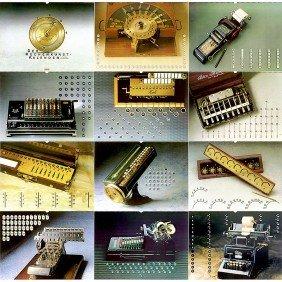 """The Legendary Calculator Calendar By """"Nixdorf Compu"""
