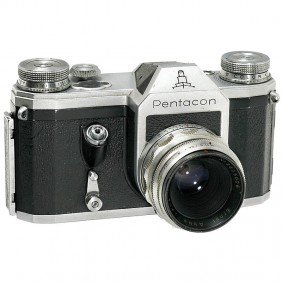 "Pentacon With ""Ernst Abbe T 2,8/50 Mm"" Lens, 1956"