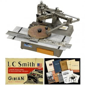 Lot Writing And Calculating Machine Accessories
