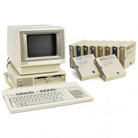 "Personal Computer""HP 150 Touchscreen"" (!), 1983"