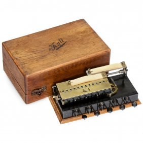 """kuli"" Calculating Machine, 1909"