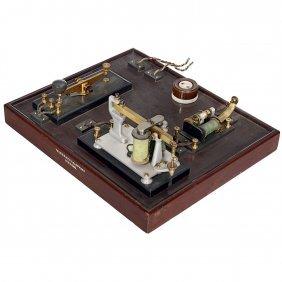 English Telegraph Demonstration Model, 1902