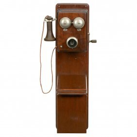 Belgian Wall Telephone, C. 1922