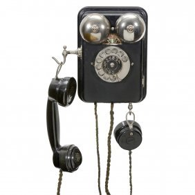 L.m. Ericsson Wall Telephone, C. 1940