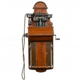 Ericsson English Wall Telephone, C. 1905
