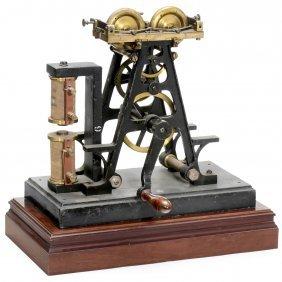 Physical Demonstration Model By Ducretet, C. 1900