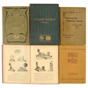 5 Scientific Instrument Catalogs, C. 1910