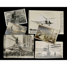 Early Helicopter Photo Archive, C. 1922 Onwards