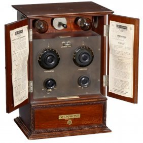 Gecophone Bc 2001 Radio, 1922