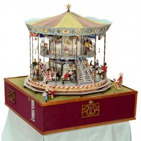 Coin-operated Fairground Carousel Automaton, 1985